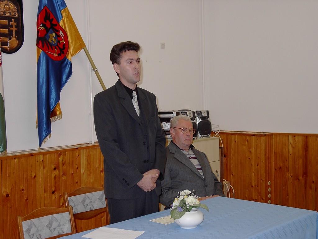 Az első beszédem polgármesterként