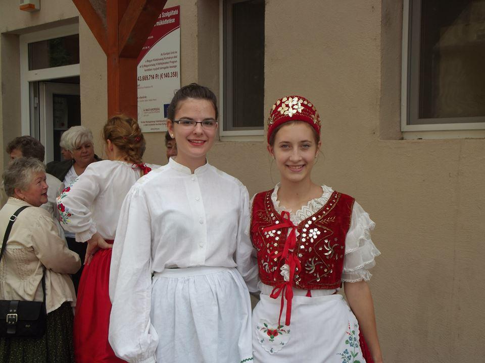 Nagy lányom, és Horváth Regina