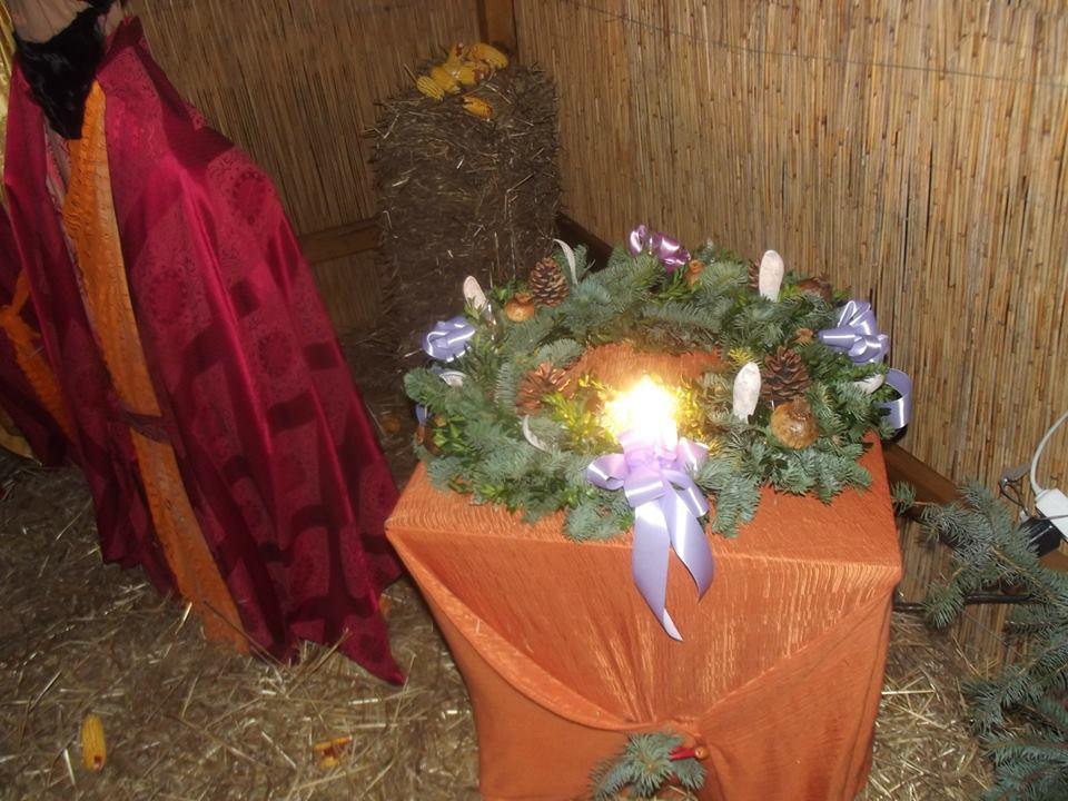 Taszár község Adventi koszorúja