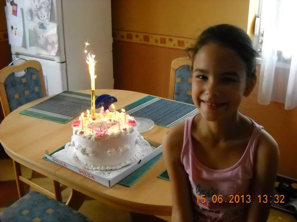 Anna 8 éves