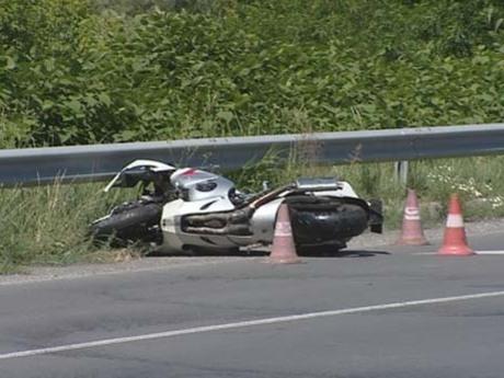 A baleset utáni első kép..
